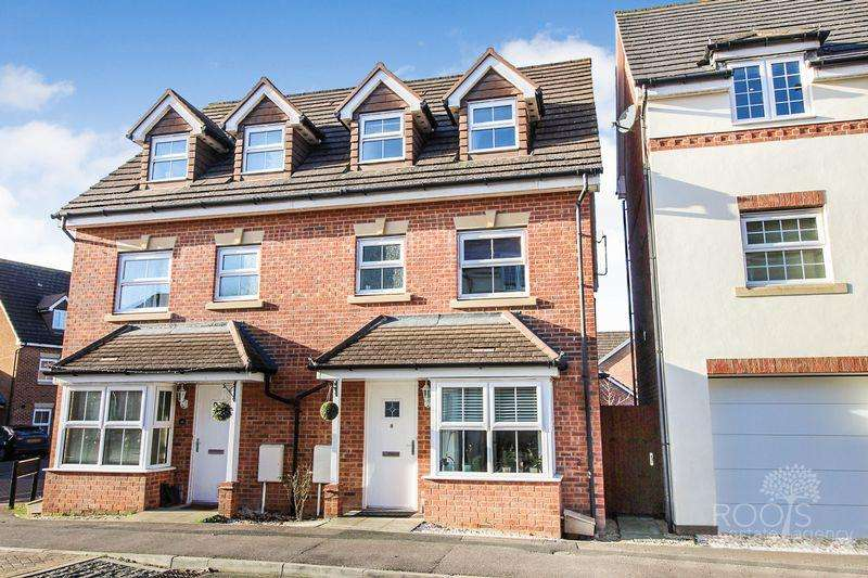 4 Bedrooms Semi Detached House for sale in Horse Guards Way, Thatcham