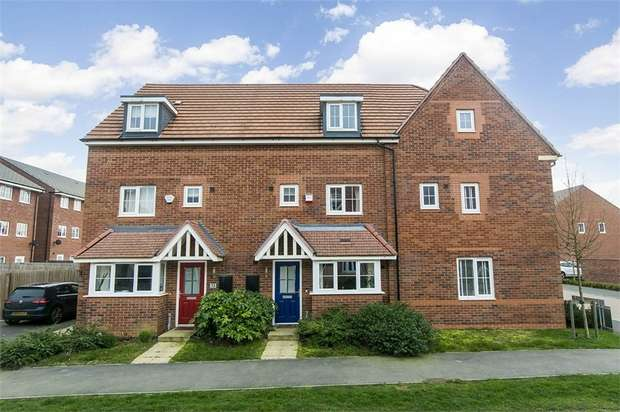 4 Bedrooms Town House for sale in Angell Drive, Market Harborough, Leicestershire