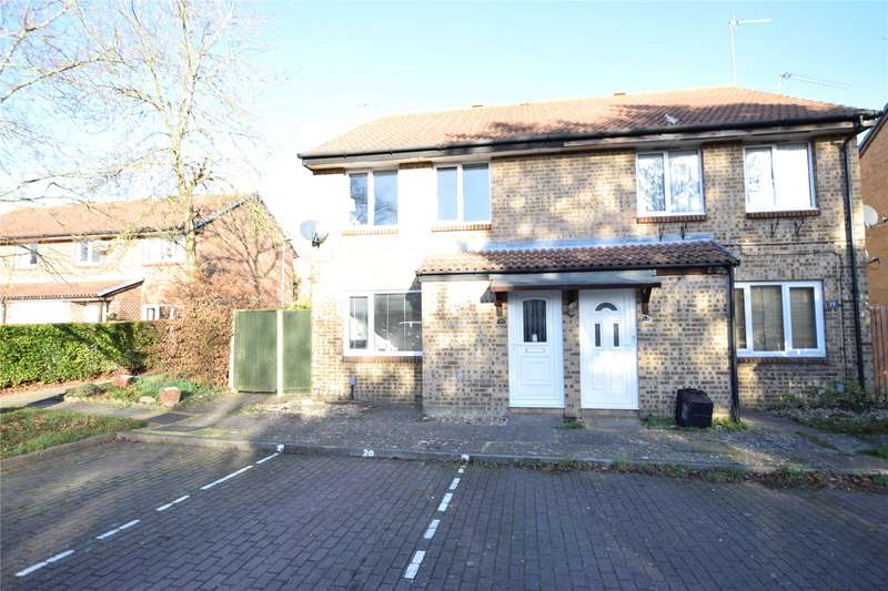 1 Bedroom Maisonette Flat for sale in Wispington Close, Lower Earley, Reading, Berkshire, RG6