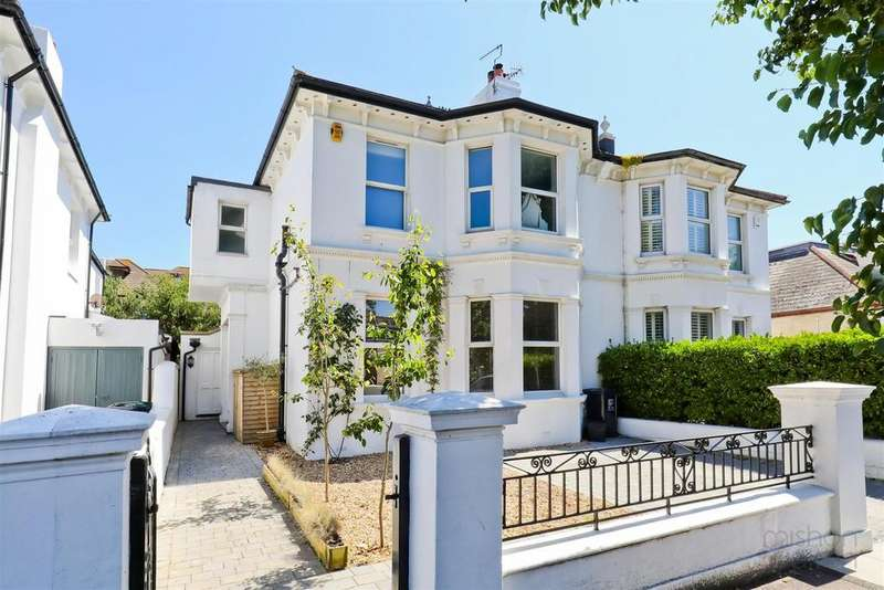 5 Bedrooms Semi Detached House for sale in Westbourne Gardens, Hove