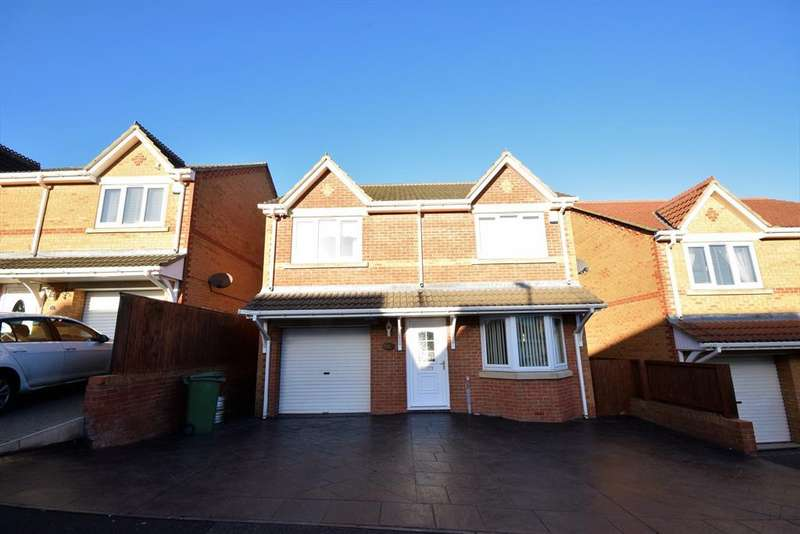 4 Bedrooms Detached House for sale in Ashwood Meadows, Horden, County Durham, SR8 4BF