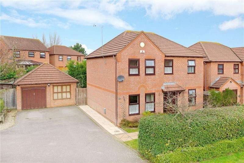 4 Bedrooms Detached House for sale in The Hythe, Two Mile Ash, Milton Keynes, Buckinghamshire