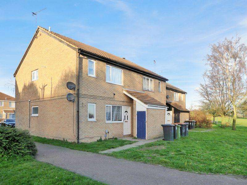 1 Bedroom Maisonette Flat for sale in Conway Close, Houghton Regis
