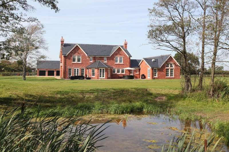 6 Bedrooms Detached House for sale in Patmos Lane, Nether Peover