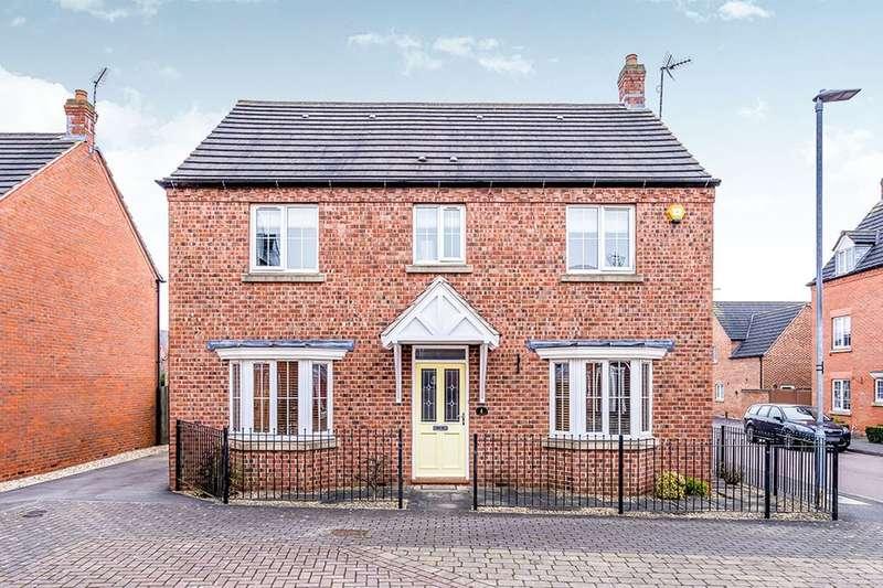 4 Bedrooms Detached House for sale in Burditt Close, Bagworth, Coalville, LE67