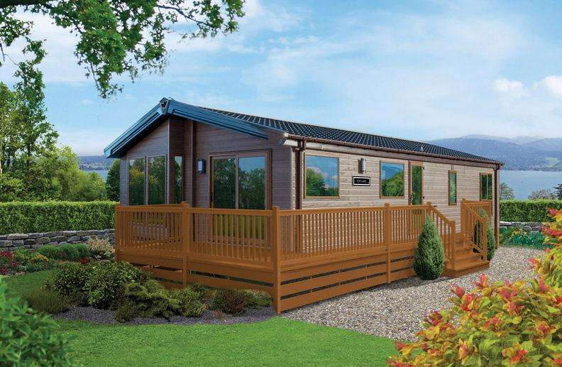 2 Bedrooms Lodge Character Property for sale in Residential Lodge, Cressfield Park, Ecclefechan, DG11 3DR