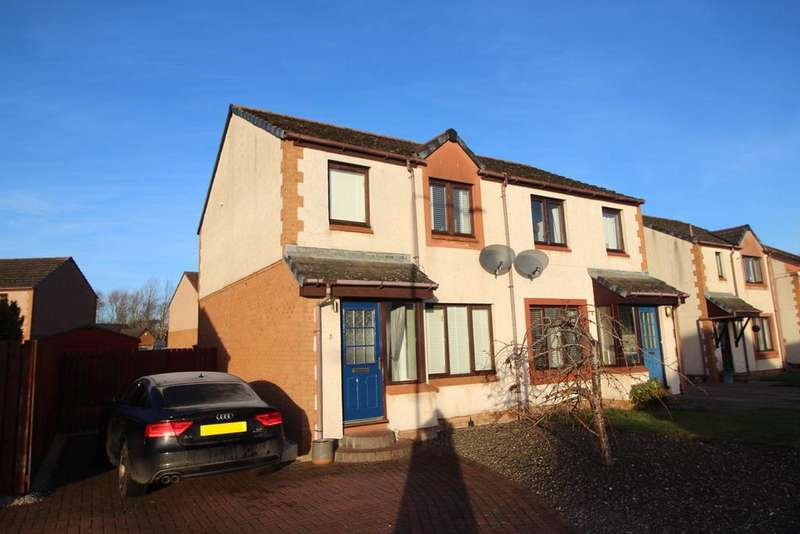 3 Bedrooms Semi Detached House for sale in Hendrie Crescent, East Wemyss, Kirkcaldy, KY1