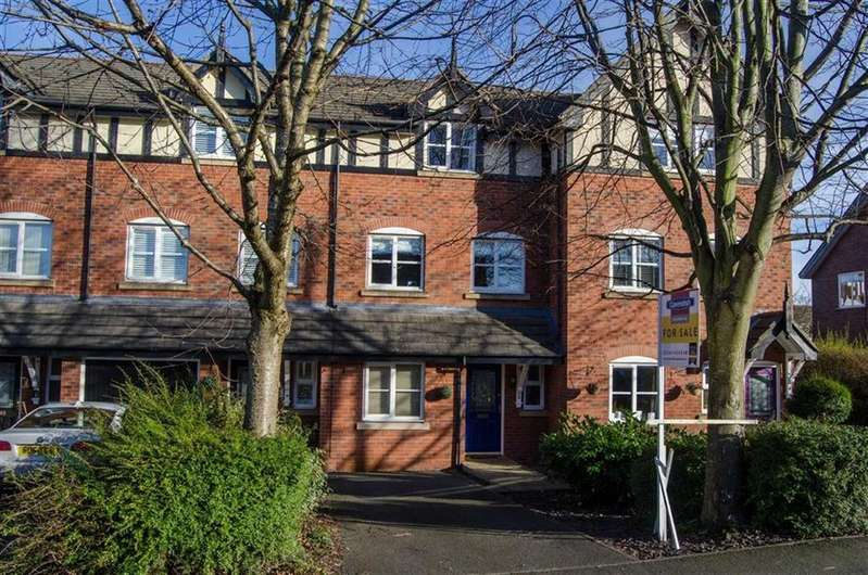 3 Bedrooms Town House for sale in Hartford Mews, Vicars Cross, Chester, Chester