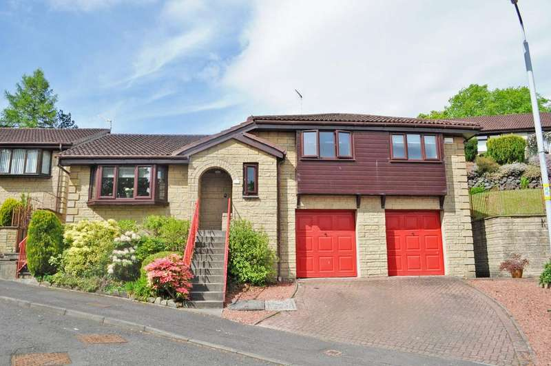 4 Bedrooms Detached Villa House for sale in 21 Helenslee Crescent, Dumbarton, G82 4HS