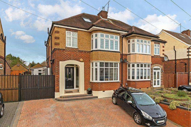 4 Bedrooms Semi Detached House for sale in Bushmead Road, Luton