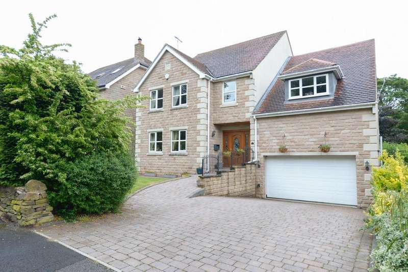 5 Bedrooms Detached House for sale in South Lodge Gardens, Chesterfield