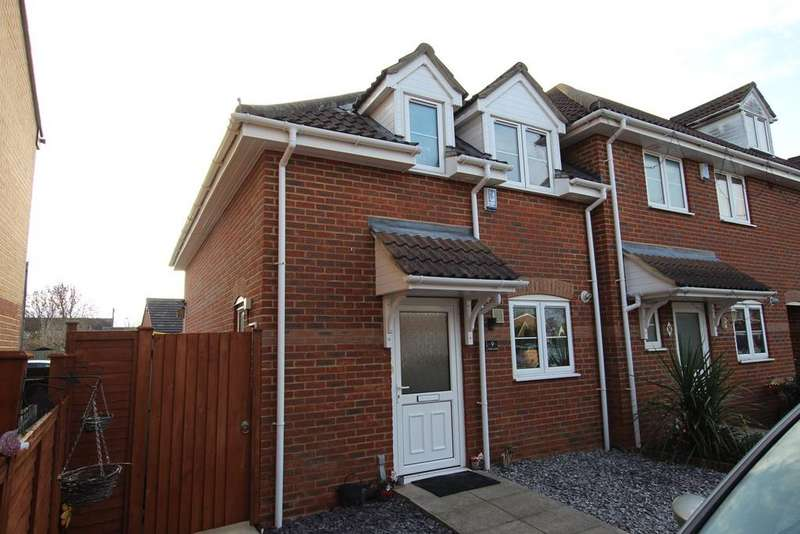 3 Bedrooms End Of Terrace House for sale in Hyde Close, Shefford, SG17