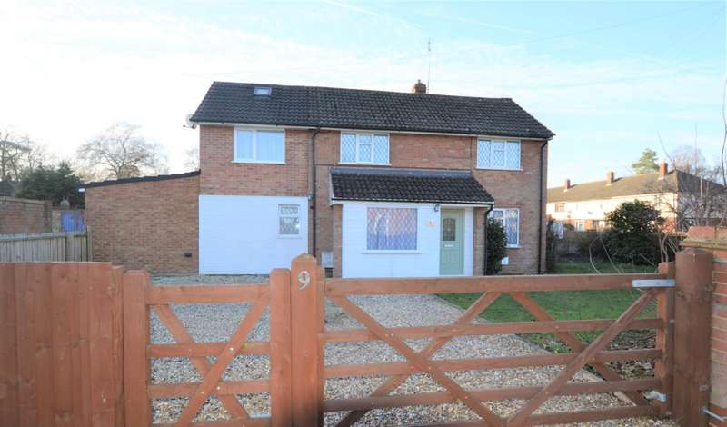 3 Bedrooms Semi Detached House for sale in Three Firs Way, Burghfield Common, Reading, RG7