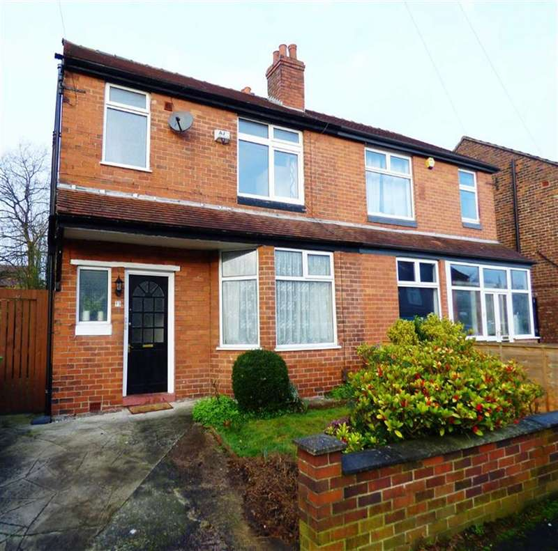3 Bedrooms Semi Detached House for sale in Barnsfold Avenue, Fallowfield, Manchester, M14