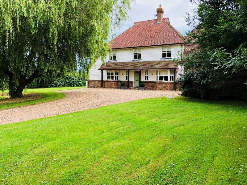 4 Bedrooms Detached House for sale in Mill Lane, Mill Corner, Northiam, East Sussex, TN31 6JU