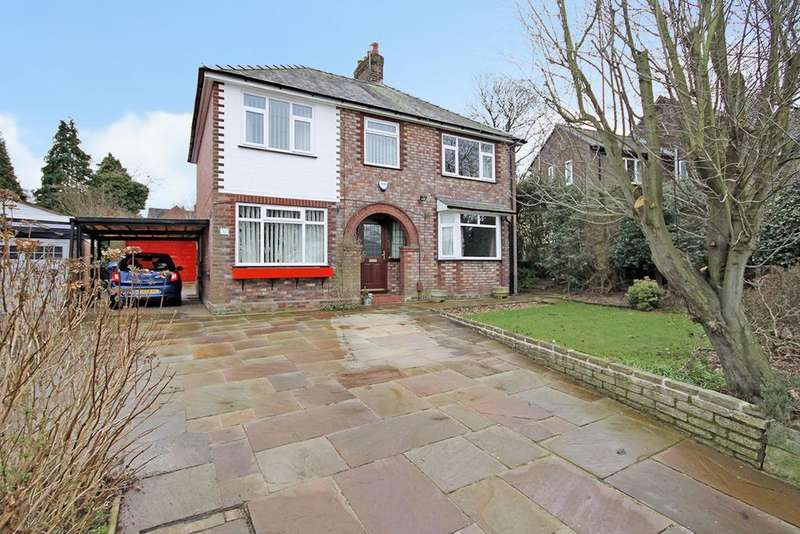 4 Bedrooms Detached House for sale in Warren Road, Appleton, Warrington, WA4