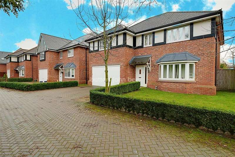 5 Bedrooms Detached House for sale in Gerards Gardens, Willaston