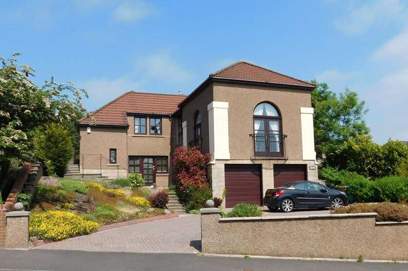 4 Bedrooms Detached House for sale in 19 Alderston Drive, Dunfermline, Fife, KY12