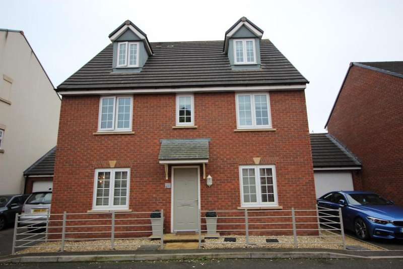 5 Bedrooms Link Detached House for sale in Mulberry Crescent, Yate