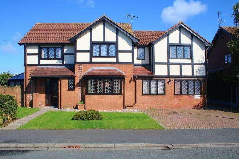5 Bedrooms Detached House for sale in Rhodfa Anwyl, Rhuddlan