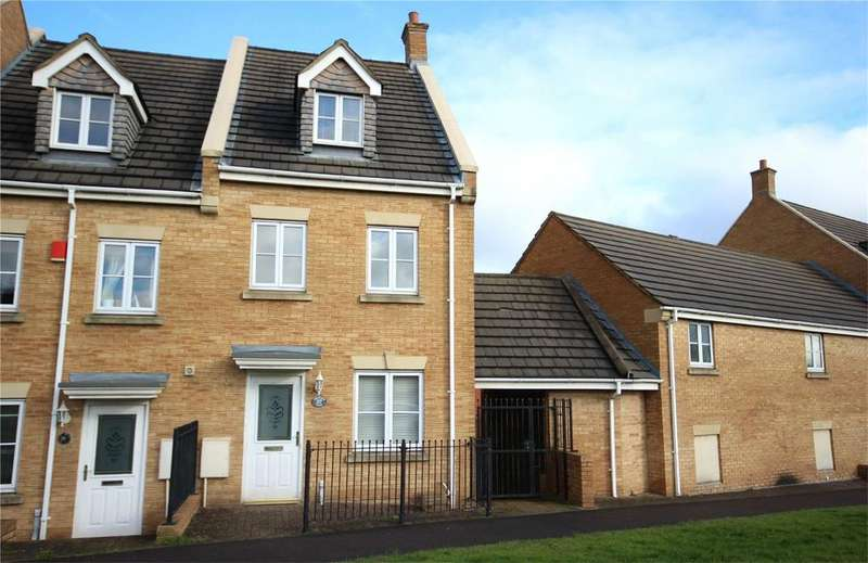 3 Bedrooms End Of Terrace House for sale in Orchard Gate, Bradley Stoke, Bristol, BS32