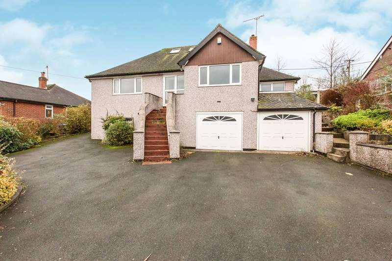 5 Bedrooms Detached House for sale in Meadowside, Knypersley, Stoke-On-Trent, ST8