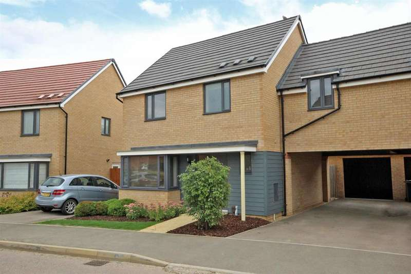 4 Bedrooms Link Detached House for sale in Folkes Road, Wootton