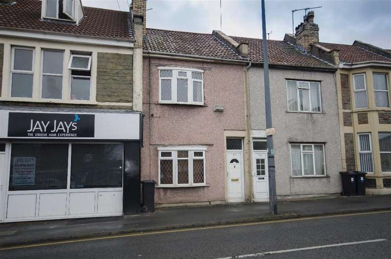 2 Bedrooms Terraced House for sale in Soundwell Road, Staple Hill, Bristol, BS16 4QR