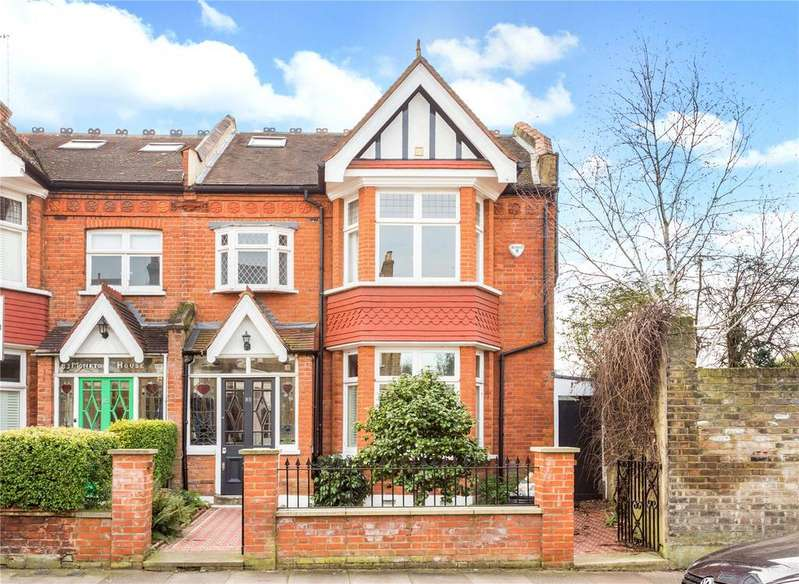 5 Bedrooms End Of Terrace House for sale in Hotham Road, Putney, London, SW15