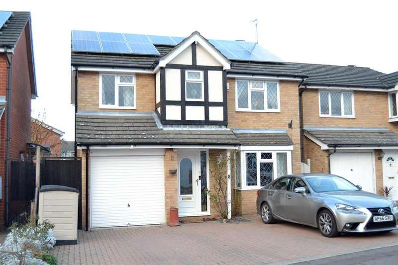 4 Bedrooms Detached House for sale in Flanders Field, Colchester, CO2 8BX