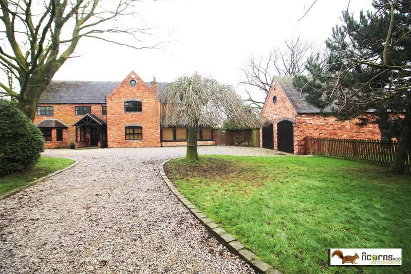 6 Bedrooms Detached House for sale in Yew Tree Farmhouse, Wootton, Eccleshall