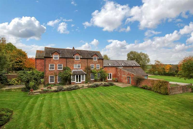 7 Bedrooms Farm House Character Property for sale in Newton Lane, Odstone, Warwickshire