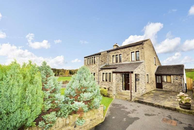 4 Bedrooms Detached House for sale in Burn Road, Huddersfield
