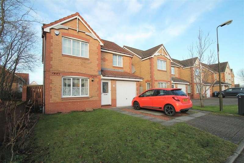 4 Bedrooms Detached House for sale in Badger Brook, Broxburn