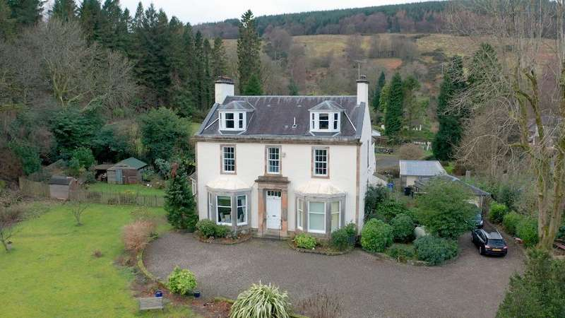 5 Bedrooms Detached House for sale in Easter Garth, Rosneath, Argyll Bute, G84 0RF