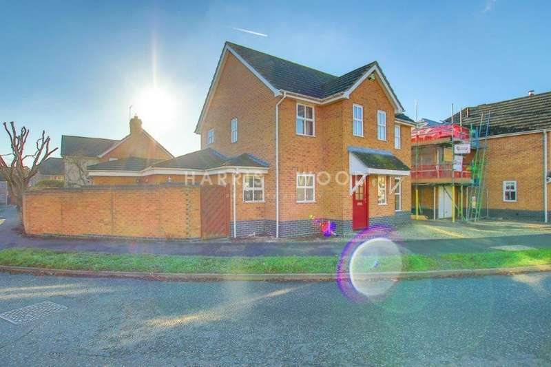 4 Bedrooms Detached House for sale in Edward Marke Drive, Langenhoe, Colchester, CO5