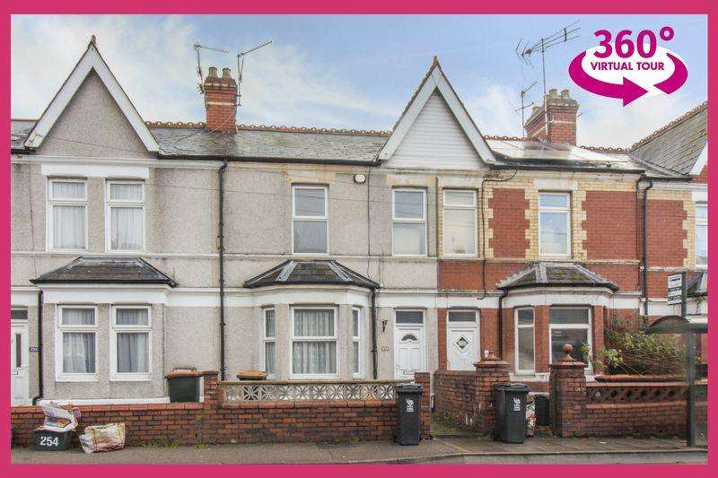 3 Bedrooms Terraced House for sale in Caerleon Road, Newport - REF#REF#00005950 - View 360 Tour At: