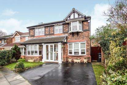4 Bedrooms Detached House for sale in Parklands Way, Liverpool, Merseyside, L22