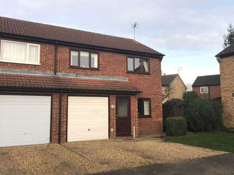 3 Bedrooms Semi Detached House for sale in Bittern Way, March