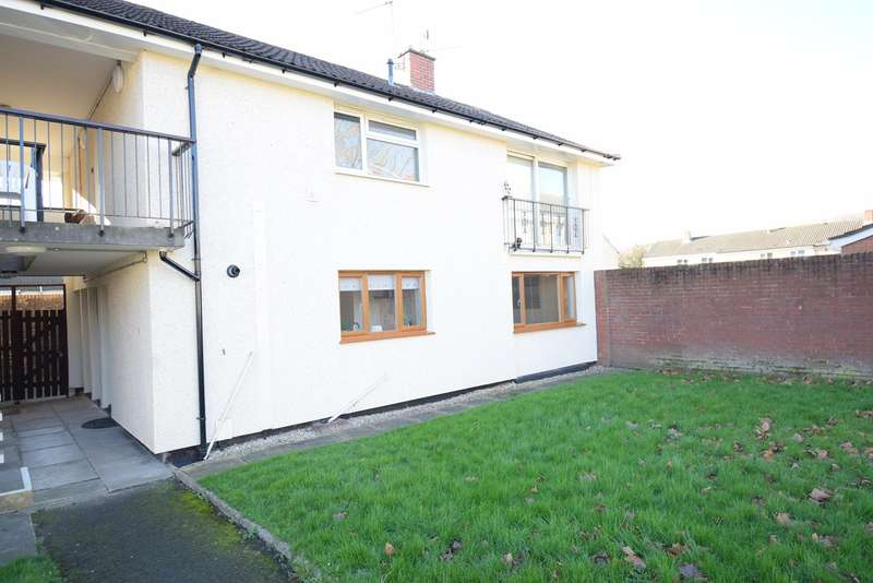 1 Bedroom Ground Flat for sale in Cardigan Close, Croesyceiliog, Cwmbran, NP44