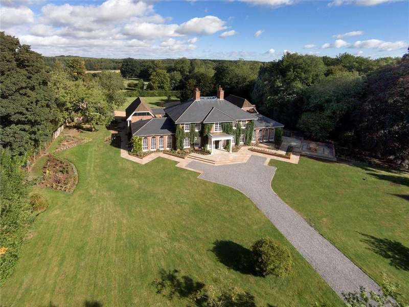 5 Bedrooms Detached House for sale in Crawley, Winchester, Hampshire, SO21