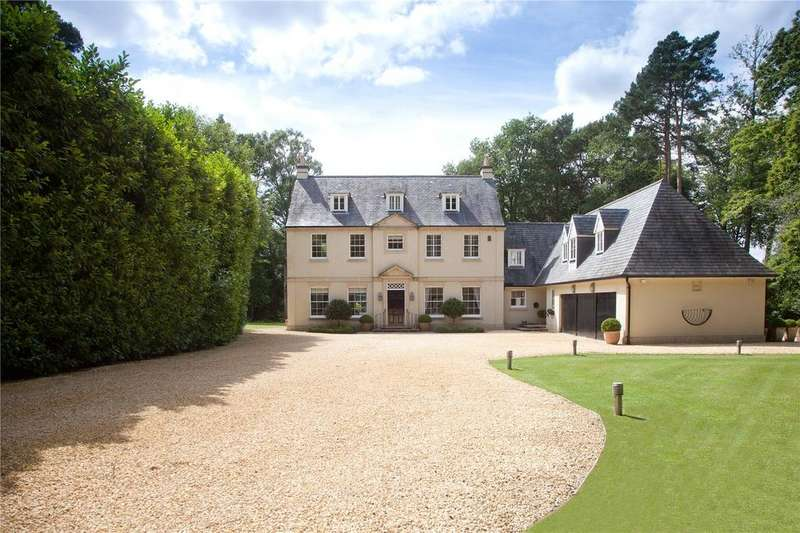 5 Bedrooms Detached House for sale in Danes Road, Awbridge, Romsey, Hampshire, SO51