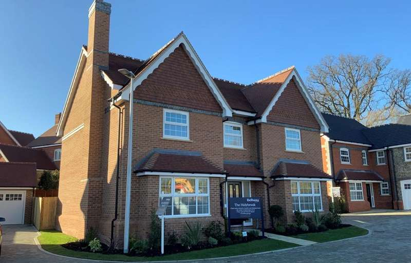 5 Bedrooms Detached House for sale in Cutbush Lane, Shinfield, RG2