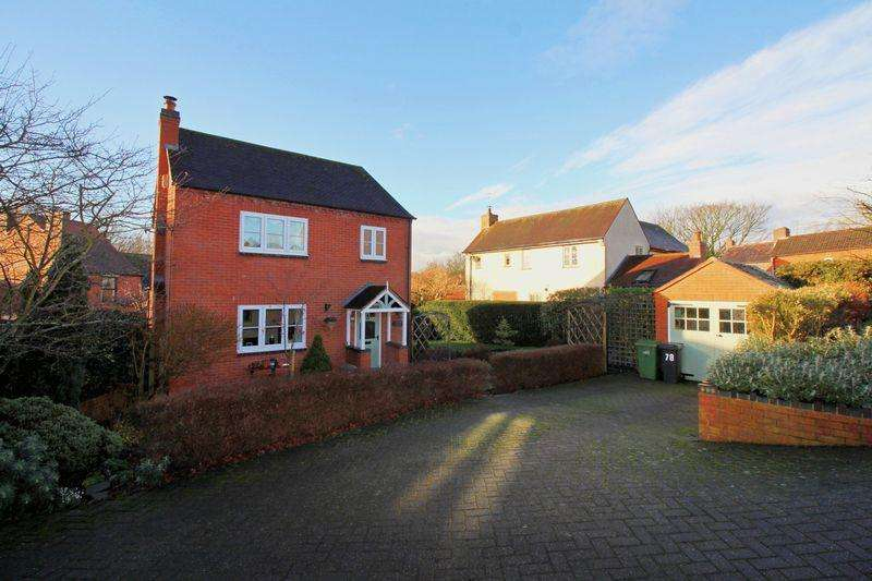 3 Bedrooms Detached House for sale in Sycamore Cottage, Mushroom Green, Dudley, DY2 0EE