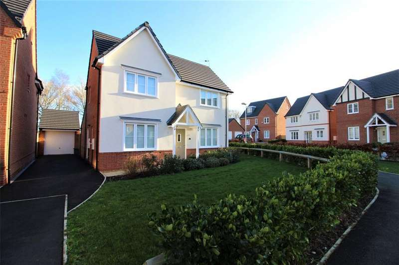 4 Bedrooms Detached House for sale in Moss Wood Court, Gatewen Village, Wrexham, LL11