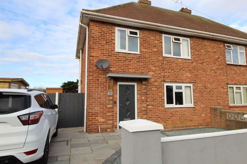 3 Bedrooms Semi Detached House for sale in Eudo Road, Skegness, Lincolnshire, PE25