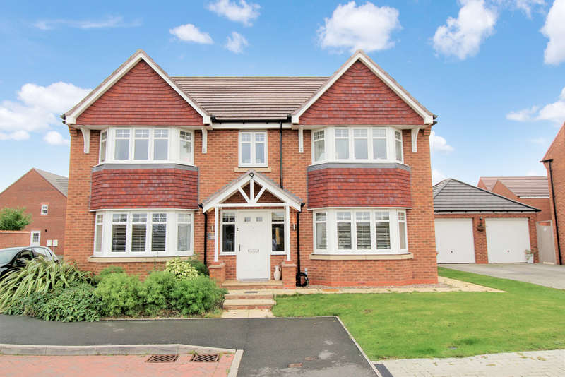 5 Bedrooms Detached House for sale in Carroll Drive, Warwick
