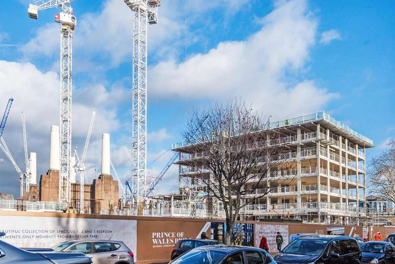2 Bedrooms Flat for sale in Kensington House, Prince of Wales Drive, London