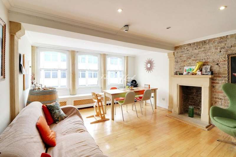 1 Bedroom Flat for sale in Charterhouse Buildings, London