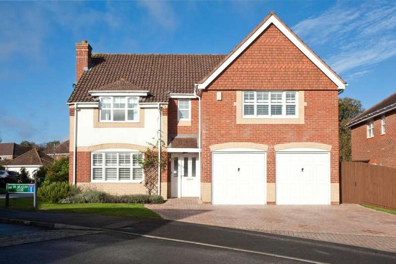 5 Bedrooms Detached House for sale in Spa Meadow Close, Greenham, Thatcham, Berkshire, RG19